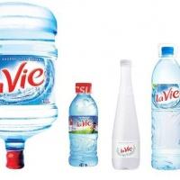 Các loại sản phẩm nước lavie.
